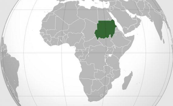 Location of Sudan