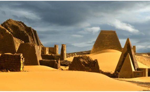 Pyramids of Meroe Sudan