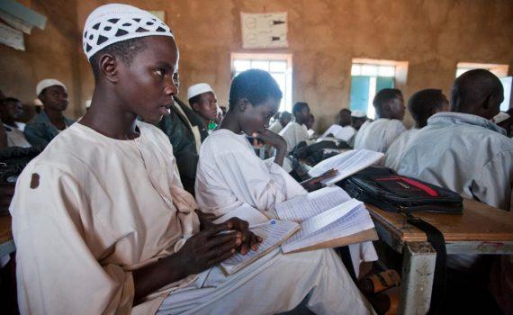 School in Kakbabiya Sudan