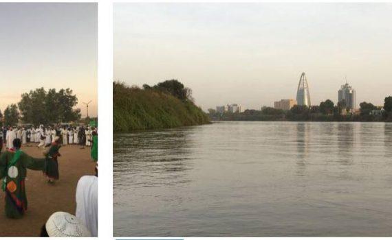 The Nile in Khartoum