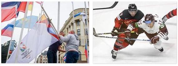Latvia Hockey